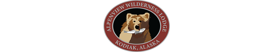 AlpenView Lodge Kodiak, Alaska Logo